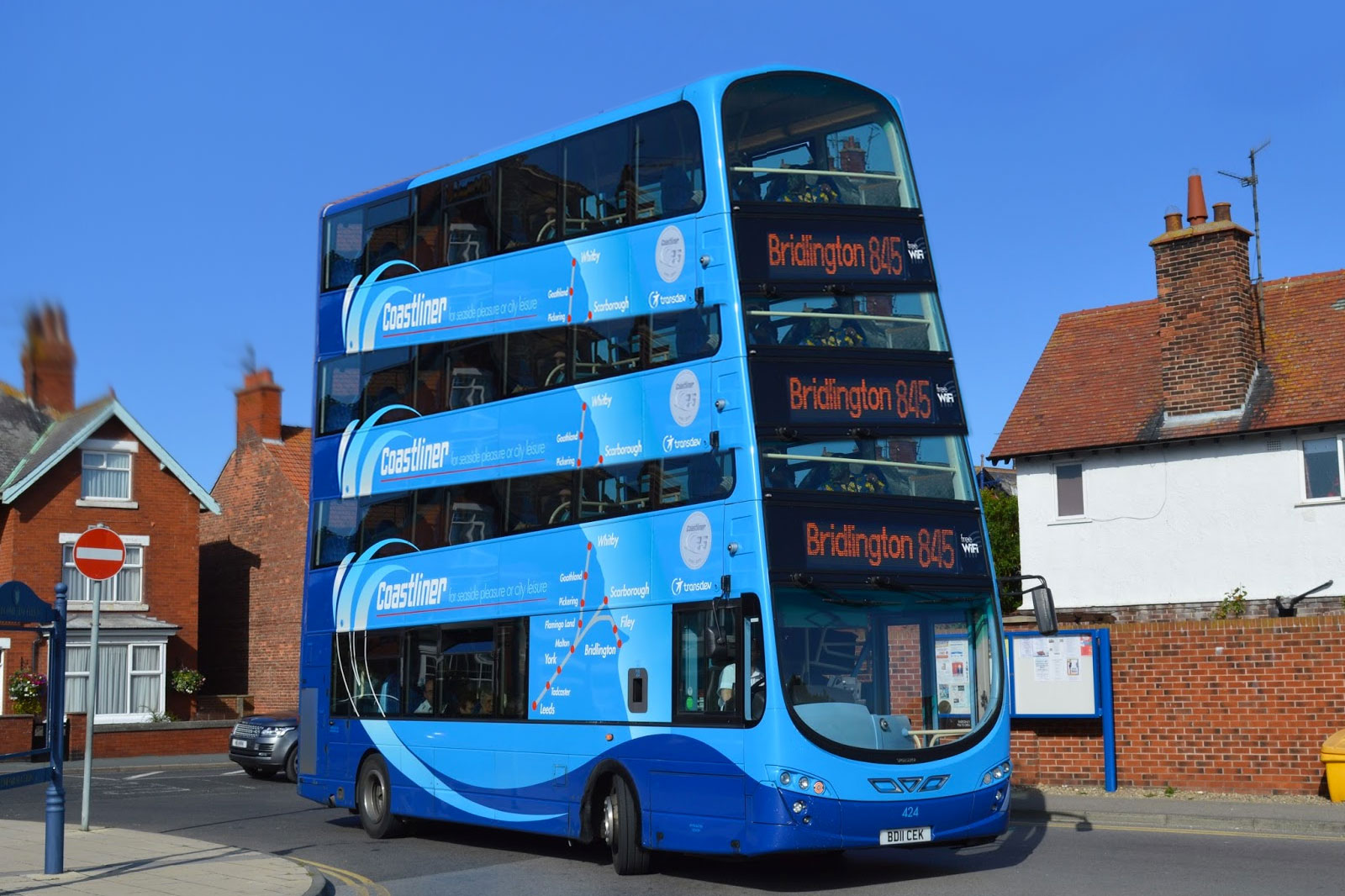 New Quad Decker Coastliner To Be Trialed In Filey