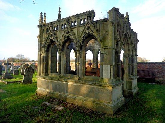 mausoleum in Filey churchyard