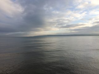 Light over Filey Bay