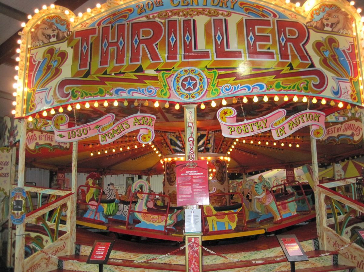 Vintage fairground ride