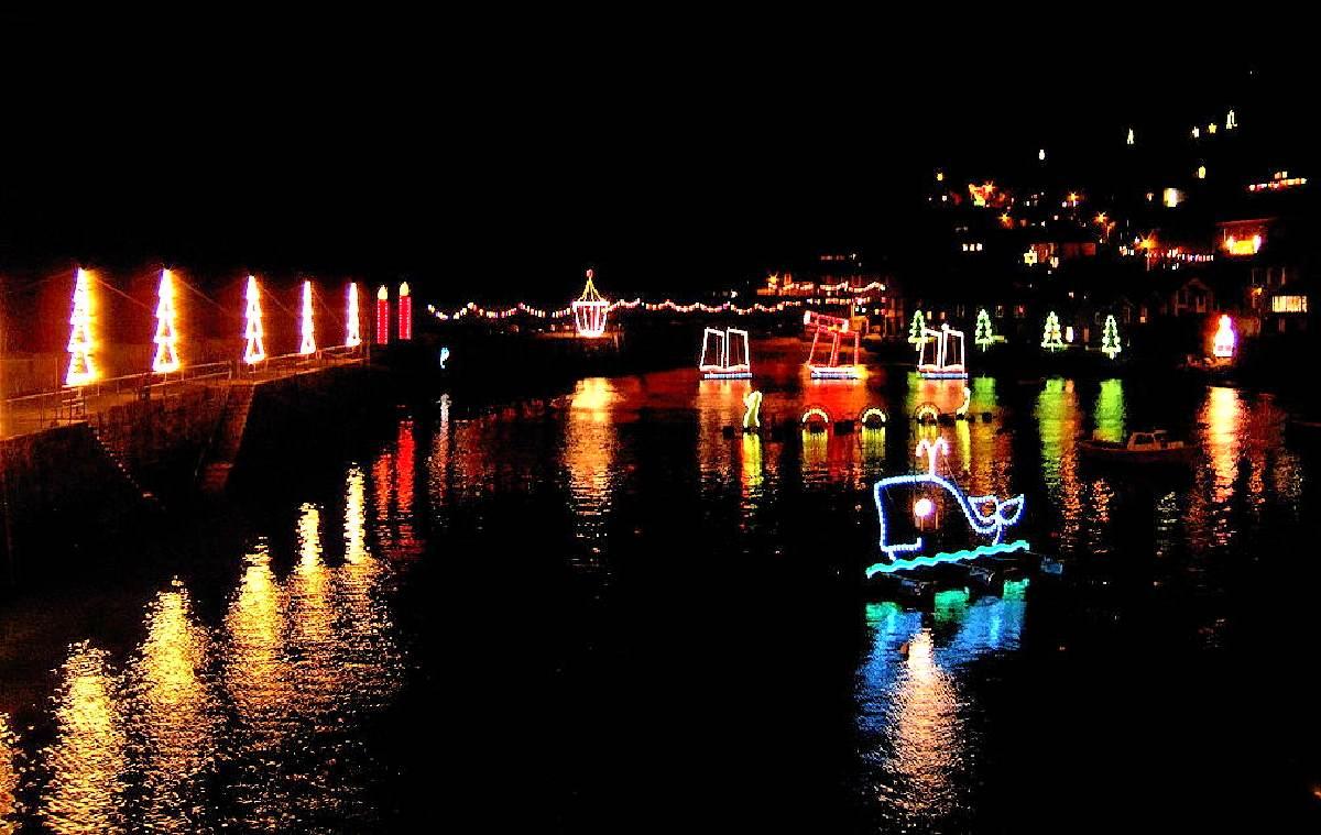 Mousehole Harbour Lights