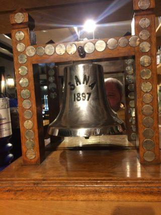 Sana Bell Fishing trophy