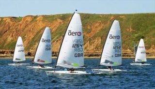 Filey Sailing club yachts