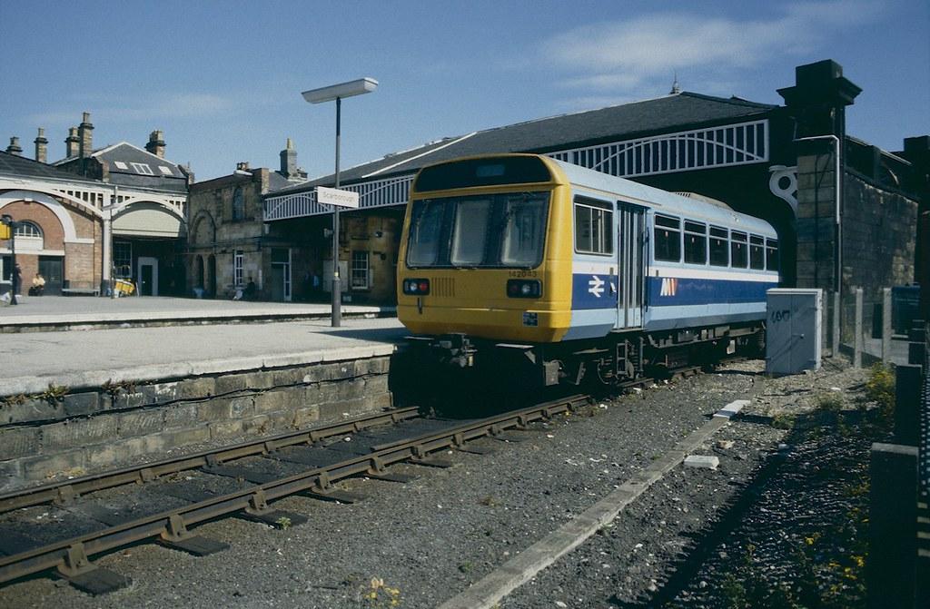 Class 142 at Scarborough