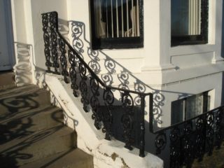 ironwork on The Crescent