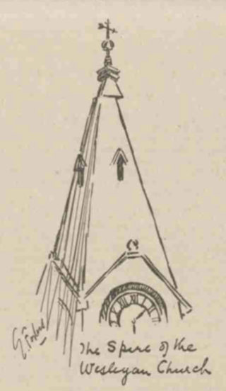 Filey church spire