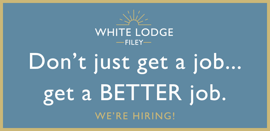 now hiring at the white lodge hotel